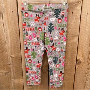 LOL Vintage Xmas leggings size 4T